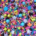Edible Decorations - Back to the 80's Sprinkle Mix - 4 oz