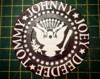 "Ramones - Custom 7"" EP Stencil Artwork"