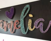 Children Wall Decor - Name String Art