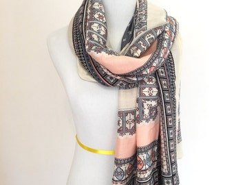 Womens Scarf Gift For Her Womens Scarves Summer Scarf Fashion Scarf Spring Scarf Fashion Accessories Boho Scarf Bohemian Scarf Womens Gift