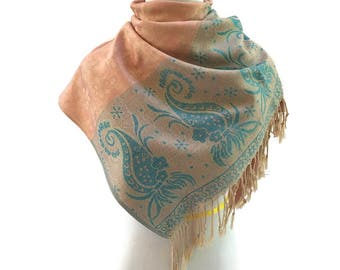 Pashmina Scarf Pashmina Shawl Gift For Hers Pashmina Wrap Fashion Accessories Pashmina Scarves Gift Ideas Mother's Day Gift