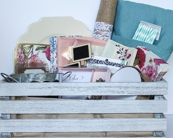 Vintage Garden Party Crate