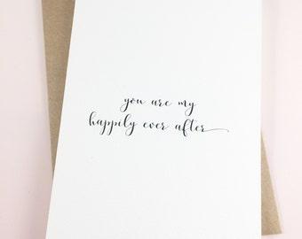 Anniversary card/Love card/Husband card/Wife card/Forever card/Fiance card/Dear future wife/Dear future husband