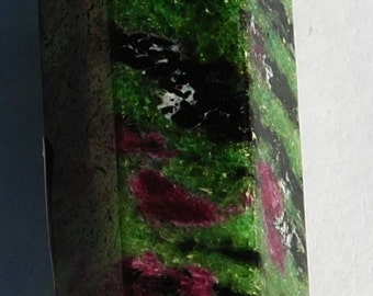 Ruby Zoisite Obelisk, Polished, Reiki, Healing Crystal, Metaphysical  Item# RZO-01