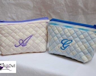 Zipper pouch personalized