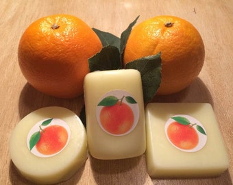 Orange Citrus and Goatsmilk Bar Soaps