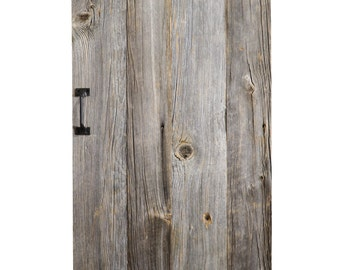 BARN Door - Custom Built Reclaimed Wood Sliding Door - Made to Order