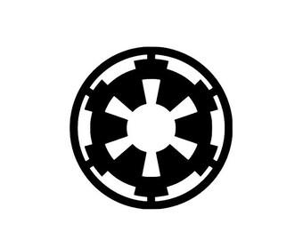 Star Wars Empire Logo Vinyl Decal/Bumper Sticker