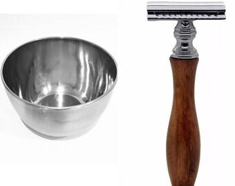 Traditional Razor & Bowl