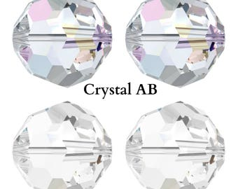 Swarovski Crystal 5000 Round Beads 10mm Pick You Colour