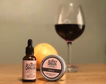 Red Wine Infused Beard Oil from Oregon