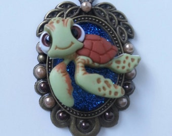 Squirt inspired Brooch