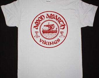 Amon Amarth Vikings ice grey t shirt