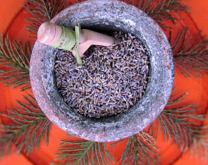 Dried Herbs, Certified Organic Lavender Flowers, Sachet, Lavender Buds, French Lavender, Dried Flowers, Aromatherapy