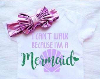 Mermaid onesie