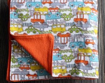 Little cars blanket