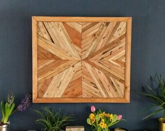 Mark 14 - Wooden Wall Art, Wood Art, Rustic, Wall Hanging, bedroom décor, wooden wall sculpture, modern art, Contemporary art