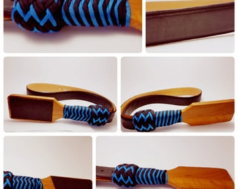 Paddle belt flogger