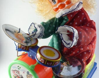 Mambo the Drummer Clown Vintage