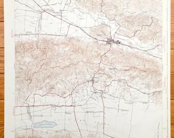 Antique San German, Puerto Rico 1941 US Geological Survey Topographic Map - Hormigueros, Cabo Rojo, Lajas, Palmarejo, Guanajibo, Filial Amor