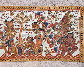 Balinese Art, traditional KAMASAN Painting