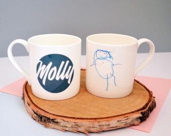 Personalised Child's Artwork Mug