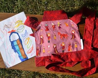 doll carrier, mommy, girl, balloon, purple, gift, Québec