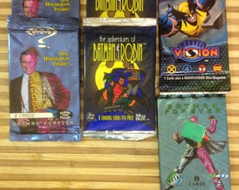 Movie Collector Cards, Batman and Robin