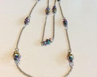 Vintage Aurora Borealis Necklace