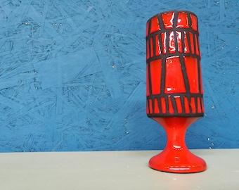 Roger Capron Glass/Vase (Vallauris)