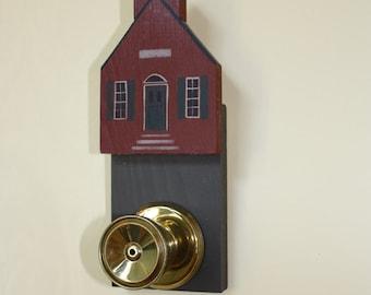 Folk Art School House