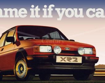 Ford  MK2 Fiesta XR2  Mug Original Advert 1980s