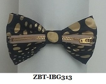 Five Patterns of Zipper Bow Ties,
