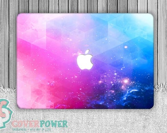 Starry Sky Galaxy MacBook Decal. Star MacBook Sticker. MacBook Skin. Macbook Cover. Macbook Air Decal Laptop Sticker MB245