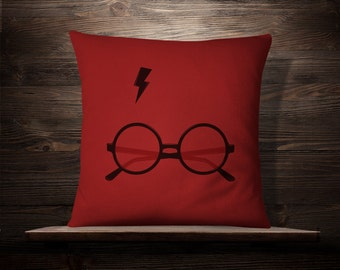Harry Potter Decor | Harry Potter Gift, Harry Potter Pillow Cover | Harry Potter Pillowcase | Harry Potter Pillow | Harry Potter Pillow Case