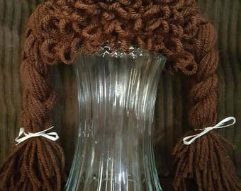 Cabbage Patch Kids Style Beanie