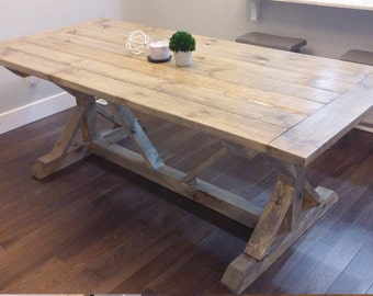Farm House Table, Bread Board, Breadboard Table, Farm Table, Dine Table