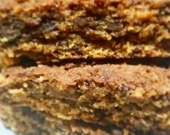 Almond Butter Blondies Vegan and Gluten-free