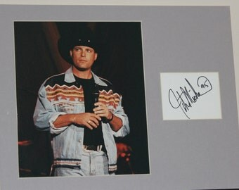 John Michael Montgomery Musical Artist Signed Autograph 14x11 Matted Ready to Frame