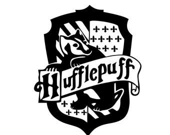 Hufflepuff vinyl   Etsy