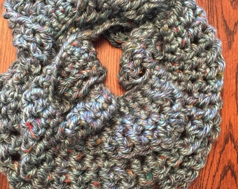 Super Soft Turquoise Infinity Scarf