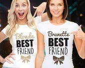 Best friend shirts / matching best friend shirts / friends t shirt / funny t shirts / bff outfits / best friend clothes / bff t shirts
