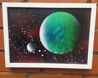 Planet and Moon 12