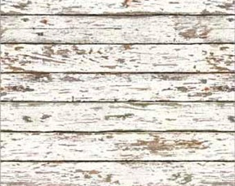 Dollhouse Distressed Wood Flooring Wallpaper Multiple Finish Options One Inch Scale