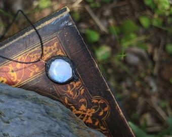Large Moonstone pendant