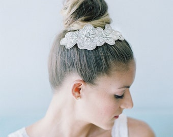 60% off sample sale wedding headpiece -Blossom Bridal hair Comb - Hp16002