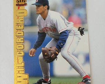 Vintage 1997 Pacific Crown Collection Platinum Blue #36 Wil Cordero Boston Red Sox - Collectible Baseball Card