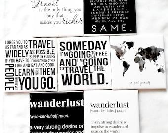 Travel Coasters