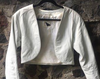 Vintage 80s Yucatan Bay  Leather Jacket size L