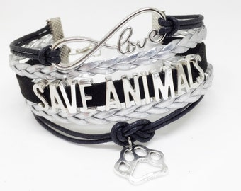 Save Animals, Rescue Dog, Animal Rescue, Rescue Mom, Rescue Pet, Animal Lover, Dog Lover Gift, Dog Lover Jewelry,Vet Tech, Veterinarian Gift